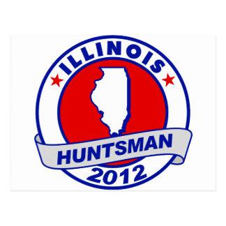 Illinois Jon Huntsman Postcard