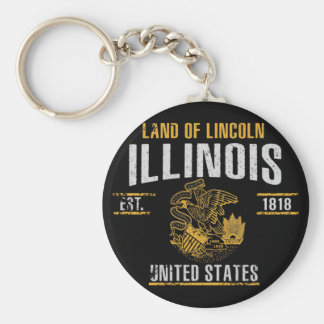 Illinois Keychain