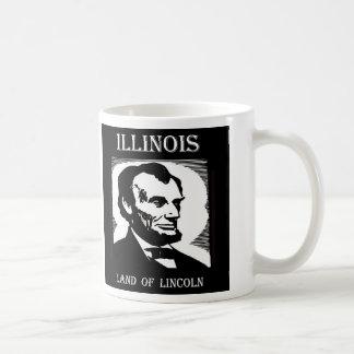 Illinois Land of Lincoln Coffee Mug