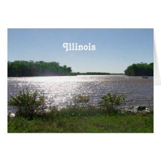 Illinois Landscape Greeting Card