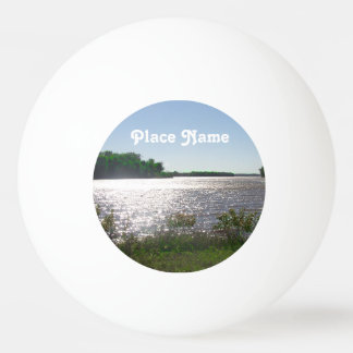 Illinois Landscape Ping Pong Ball