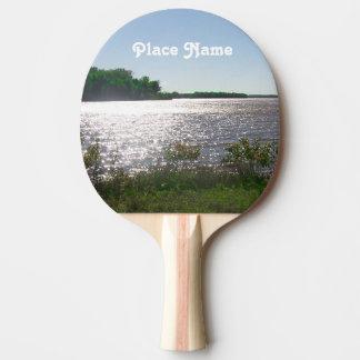 Illinois Landscape Ping Pong Paddle