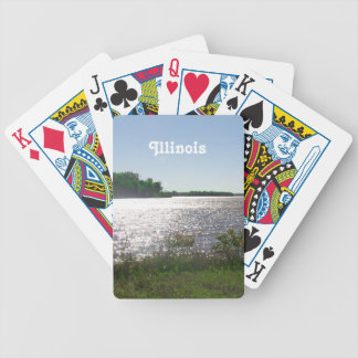 Illinois Landscape Bicycle Card Decks