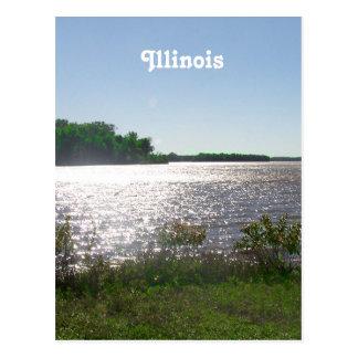 Illinois Landscape Postcard