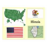 Illinois, los E.E.U.U. Postal
