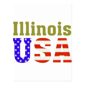 ¡Illinois los E.E.U.U.! Postales