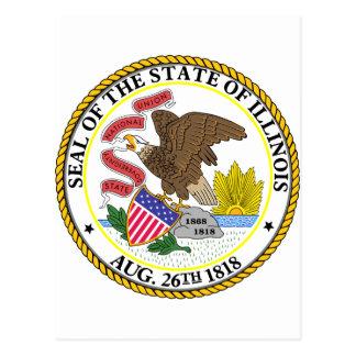 Illinois, los E.E.U.U. Tarjetas Postales