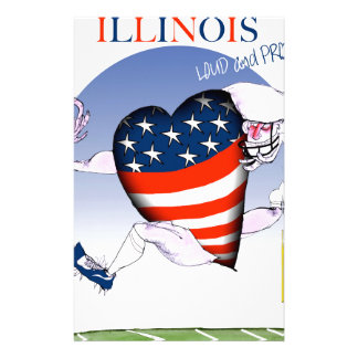 illinois loud and proud, tony fernandes stationery