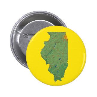 Illinois Map Button