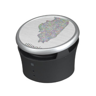 Illinois map speaker