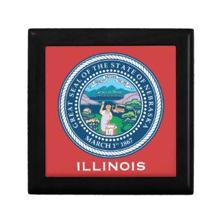 Illinois* Men's Jewelry Box