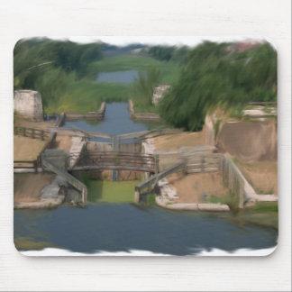 Illinois Michigan Canal - Lock 14 Mouse Pad