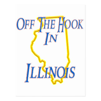 Illinois - Off The Hook Postcard