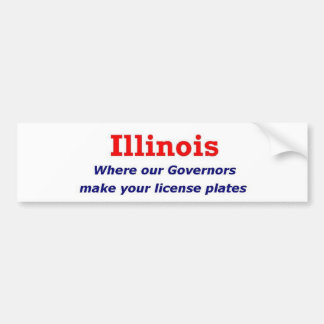 Illinois Pegatina Para Auto