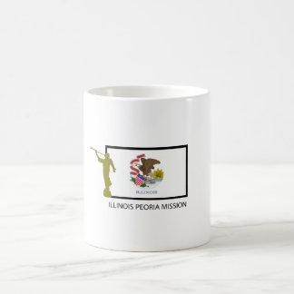 ILLINOIS PEORIA MISSION LDS CTR COFFEE MUG