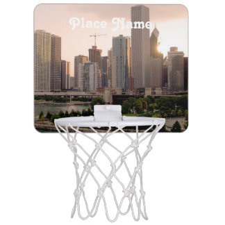 Illinois Mini Basketball Backboard