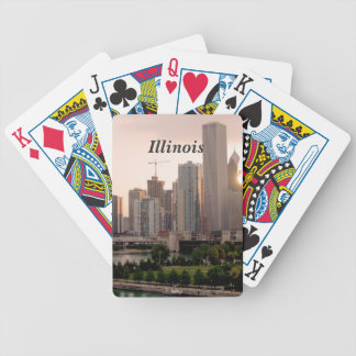 Illinois Bicycle Poker Cards