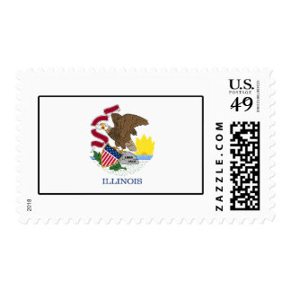 Illinois Postage Stamp