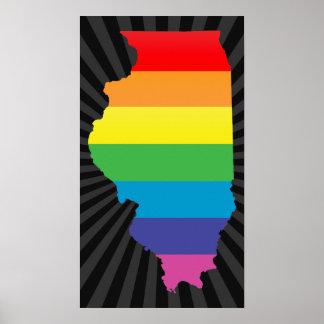 illinois pride posters