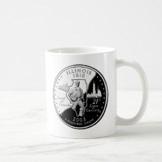 Illinois Quarter Coffee Mug