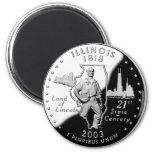 Illinois Quarter Magnets