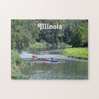 Illinois Rafting Jigsaw Puzzle