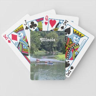 Illinois Rafting Bicycle Card Deck