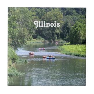 Illinois Rafting Tiles