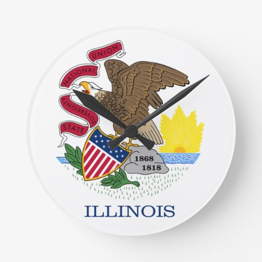Illinois Relojes De Pared