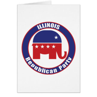 Illinois Republican Party Card