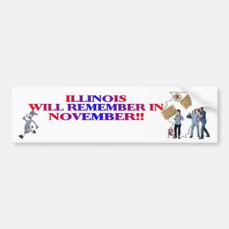 Illinois - Return Congress To The People!! Bumper Sticker