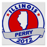 Illinois Rick Perry Poster