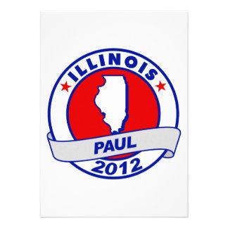 Illinois Ron Paul Custom Invitations
