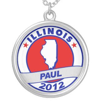 Illinois Ron Paul Custom Necklace