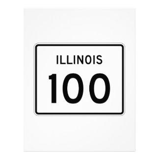 Illinois Route 100 Letterhead