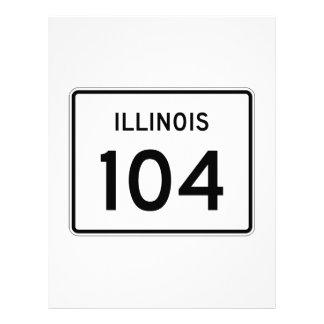 Illinois Route 104 Letterhead