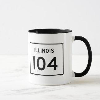 Illinois Route 104 Mug