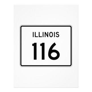 Illinois Route 116 Letterhead