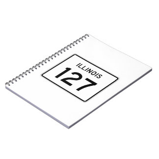 Illinois Route 127 Spiral Notebook