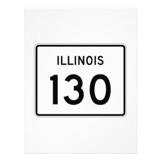 Illinois Route 130 Letterhead