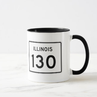 Illinois Route 130 Mug