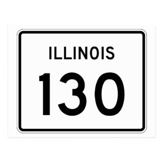 Illinois Route 130 Postcard