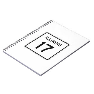 Illinois Route 17 Notebook