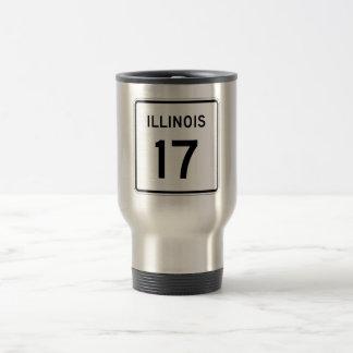 Illinois Route 17 Travel Mug