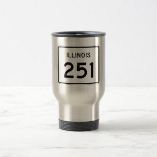 Illinois Route 251 Travel Mug