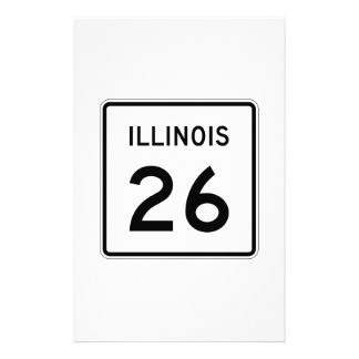 Illinois Route 26 Stationery