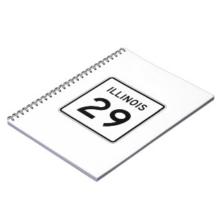 Illinois Route 29 Notebook