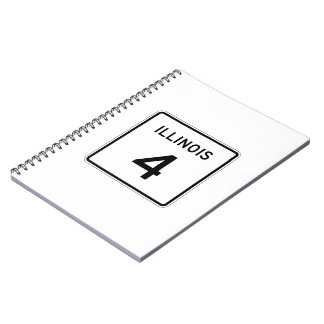 Illinois Route 4 Notebook