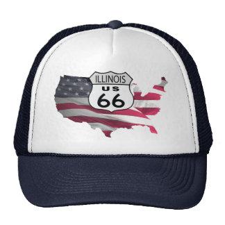 Illinois Route 66 Trucker Hat
