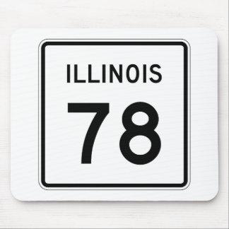 Illinois Route 78 Mouse Pad